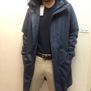 NWT Quilted Rains Jacket